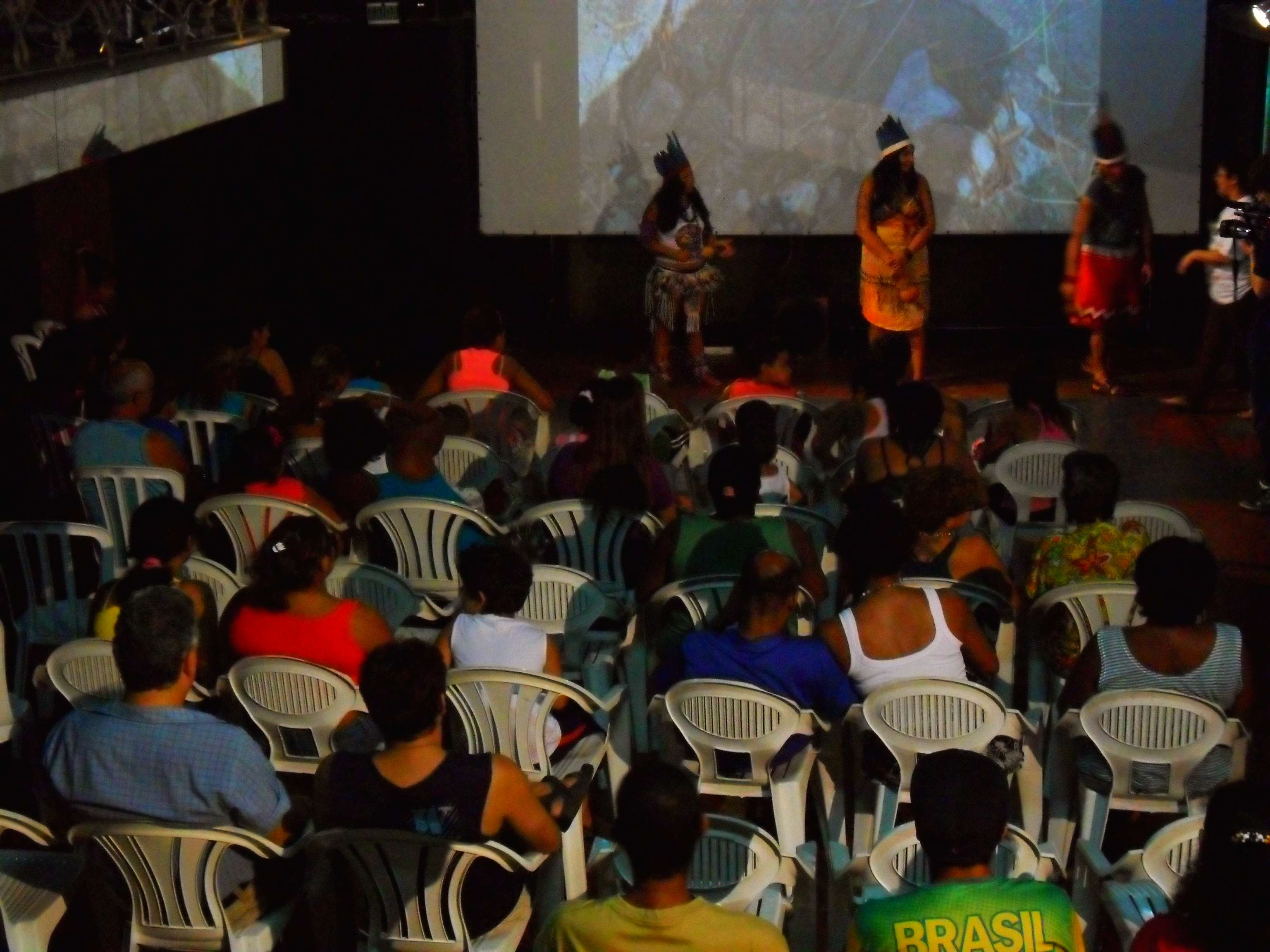 Mostra Cine Índio Brasil - Microcine Bonsucesso